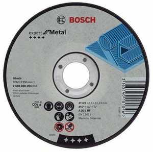 BOSCH Отрезной круг по металлу A 30 S BF 125x2.5x22 2.608.600.221