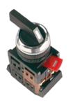 Кнопка ALCLR-22 (черный.на 3 полож)